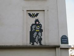 Space Invader PA_1261 (tofz4u) Tags: 75012 batman paris streetart artderue invader spaceinvader spaceinvaders mosaïque mosaic tile pa1261 bat