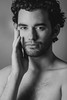 L. (A.Mi.) Tags: boy curly man guy shirtless topless beard