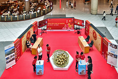 Nest of Fortune (chooyutshing) Tags: nestoffortune goldeneggs northatrium sunteccity chinesenewyear2017 lunarnewyear yearoftherooster festival attractions celebrations singapore