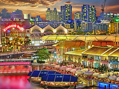Sizzlin' Colors by The River Banks @ Clarke Quay and Riverside Point (williamcho) Tags: ngc clarkequay riversidepoint singaporeriverrivertaxis restaurants nightlife rendezvous clubs bars entertainment