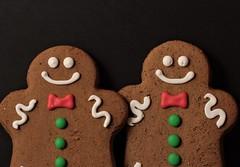 More Gingerbread.. (catherine4077) Tags: gingerbreadmen gingerbread christmas december 2016 sweet cookies