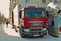 MAN TGS28.360  А 260 ОЕ 37 (RUS) (zauralec) Tags: kurgan street k myagotina retail chain magnit магнит курган улица коли мяготина man tgs28360 а 260 ое 37 rus