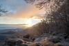 monte amiata (TomCestari) Tags: monteamiata neve amiata toscana vetta tramonto d3100