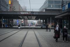 The day after the Christmas market attack. Berlin, December 2016. (joelschalit) Tags: berlin germany terrorism integration tolerance multiculturalism islam hijab graffiti pentax pentaxk3 women berlinattack