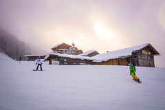 Snowboarding (bailes.joseph) Tags: snowboard snow lodge cabin ski skiing snowing mountain slopes