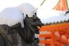 Snow on a dragon (Teruhide Tomori) Tags: 京都 日本 平安神宮 岡崎 洛中 冬 雪 寺社建築 winter snow japan japon shrine architecture construction building heianjingushrine 龍 dragon