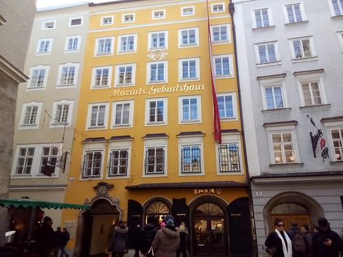 Mozart Geburtshaus, Salzburgo