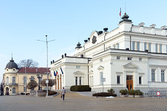 AFS-170003 (Alex Segre) Tags: exterior exteriors outside capital city cities scene scenes scenic parliament building buildings architecture famous landmark landmarks nationalassembly sofia bulgaria bulgarian easterneurope easterneuropean in a alexsegre