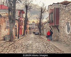 Photo accepted by Stockimo (vanya.bovajo) Tags: stockimo iphonegraphy iphone plovdiv old town bulgaria ancient architecture houses house bulgarian housing stones stoned city traditional travel traveling tourists tourist people couple european