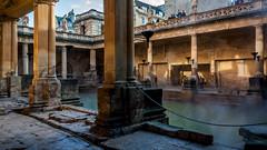 Roman Baths - Bath-2 (PapaPiper) Tags: bath unitedkingdom cityofbath somerset romanbaths unescoworldheritagesite romanarchitecture greatphotographers