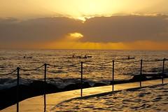 Bronte Paddlers (paulavarnier) Tags: sydney ocean bronte paddlers
