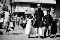 The Young Moulana's Day Out (N A Y E E M) Tags: moulana family kids wife burqa niqab hijab paanwalla candid afternoon street norahmedroad chittagong bangladesh carwindow