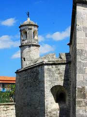 Old Cuban Fort (shaire productions) Tags: cuba cuban buildings image picture photo photograph photography travel imagery old fort brick building exterior havana city urban streets