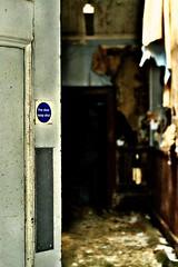 Asylum 'GR' (Michelle O'Connell Photography) Tags: asylum glasgowasylum abandonedasylum abandonedcorridor corridor hallway shadows derelict victorianasylum mentalinstitute sanitorium michelleoconnellphotography