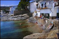 - SOL Y PLAYA - (Tomas Mauri) Tags: sunandbeach solyplaya casasblancas playa aguacristalina personas rocas arboles cielo tranquilidad naturaleza cala cadaques costabrava catalunya spain cataluña catalonia europa mediterráneo aguaclara clearwater serenidad serenity