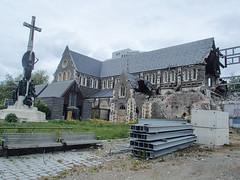 435 - Cathédrale de Christchurch en ruine