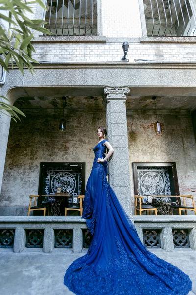 婚紗, 禮服, 手工婚紗, 蕾絲, 黑色婚紗, 夕陽拍攝