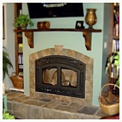 Superior WCT6840 Wood Burning Fireplace, Dalton, GA.