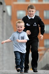Harri Reed and his brother James, who saved his life 2