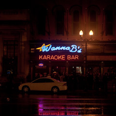 Wanna B's (Thomas Hawk) Tags: usa neon unitedstates nashville tennessee unitedstatesofamerica broadway karaoke wannabs