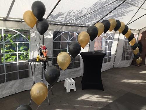 Heliumboog Goud Zwart