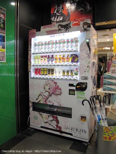 Vending machine Akihabara style
