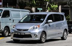 MAL TBJ 5936 (rOOmUSh) Tags: grey malaysia insingapore