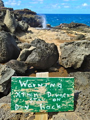Nakalele Blowhole (travelontheside) Tags: ocean hawaii maui pacificocean blowhole aloha nakaleleblowhole nakalelepoint