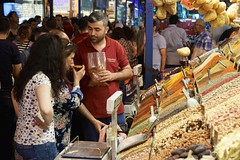 Savouring the spices, Istanbul (jozioau) Tags: spice istanbul bazaar variosonnart282470