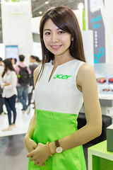 ACER girl (jordan_0503) Tags: show girls woman cute girl beautiful beauty female canon computer eos is model pretty expo sweet models adorable taiwan human acer idol attractive taipei usm lovely charming   sg     6d     2470mm 2015   appealing     f4l