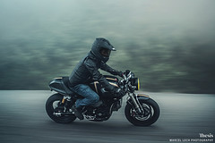 Ducati SportClassic SE (Marcel Lech Photography) Tags: canada sport fog night vancouver photography marcel special jacket thesis motorcycle ducati edition 1000 lech sportclassic 1000cc