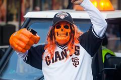 Giants (Thomas Hawk) Tags: sanfrancisco california usa skull unitedstates mask baseball unitedstatesofamerica parade sfgiants giants sanfranciscogiants fav10 sfgiantsparade