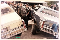 Cadillac jump (ericbaygon) Tags: car jump nikon meeting cadillac american custom amis kustom kulture américaine d300s