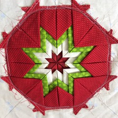 Amish folded star quilted hotpad (ZiKiarts) Tags: california christmas travel family famille wedding friends party vacation italy music usa newyork canada paris france amigos color london love beach portugal japan digital canon photo yahoo google spain nikon quilt iran lyon amor sony craft hobby amish casio losamigos amour gelato londres croissant patchwork venise japon fromage couleur kaffefassett facebook marseilles tissu 2015 zagros legalseafood zagrosmountains zardkuh bazoftforever bazoft wholfoods jardinpartage kaffefassette zikiarts jardinpartageleroyseme zikia amishfoldedstarquiltedhotpad dominiqueervo