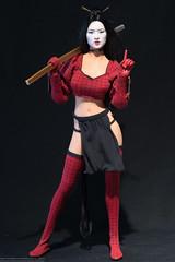 Phicen Shi 5.2 Conversion (edwicks_toybox) Tags: stainlesssteel ninja sword katana shi billytucci 16scale femaleactionfigure executivereplicas phicen anaishikawa