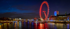 London-Eye-at-Night-pano (FitzinCC) Tags: londonhdr