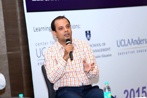 Satyam Darmora during Driving Social Innovation panel Discussion