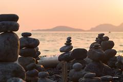 pntcrvdm (APINTUS) Tags: sea beach italia tramonto mare liguria punta sassi portovenere spiaggia nera golfo sabbia corvo palmaria spezia poeti montemarcello