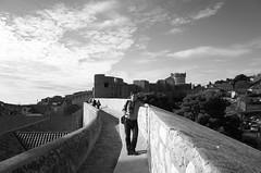 Rolleiflex Man_Dubrovnik (Koprek) Tags: ricoh gr dubrovnik walls