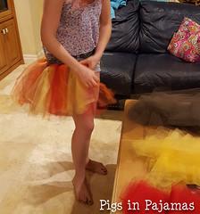 Attaching strips for Turkey Trot Tutus (pigsinpajamas) Tags: turkeytrot tutu turkey thanksgiving tulle skirt running costume 5k