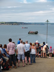 Waiting for the Tenby boat (SteveInLeighton's Photos) Tags: wales pembrokeshire caldey 2011 august boat landingcraft