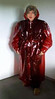 Posing in a red mac (smmack) Tags: hooded mac pvc posing