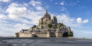 Mont St. Michel - Marea baja