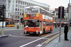 G M Buses 8145 (MNC 488W) (SelmerOrSelnec) Tags: gmbuses leyland fleetline northerncounties mnc488w manchester mosleystreet gmt bus