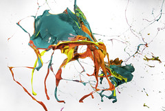 Rainbow Explosion (Brandon_Hilder) Tags: paint paintballoons balloon