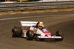Ayrton Senna - Tolman TG183B (Noodles Photo) Tags: ayrtonsenna toleman tolemantg183b grandprixbelgium zolder zoldercircuit circuitzolder formulaone formel1 xliigroteprijsvanbelgie zolderterlaemen terlaemanboocht autorennen rennwagen