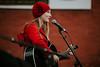 Christmas music (vujade762) Tags: musician girl red coat nashville