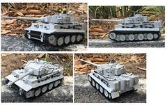 PzKpfw VI Tiger Tank (Lego Admiral) Tags: ww2 wwii german tank tiger lego