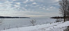 All frozen over...HBM! (wessexman...(Mike)) Tags: hbm lake lakesimcoe barrie ontario canada bench ice snow