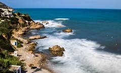 La plage de Cabo Negro en longue exposition. (Bouhsina Photography) Tags: long exposition tétouan tetuan cabo negro maroc été 2016 filtrend nd1000 canon 5diii ef2470 bouhsina bouhsinaphotography
